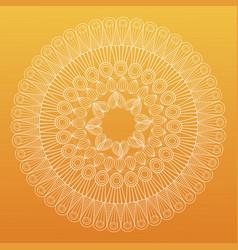 Mandala bohemic decorated rituals vector