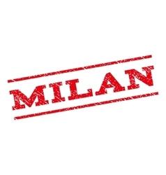 Milan Watermark Stamp vector