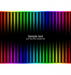 rainbow colors vector image