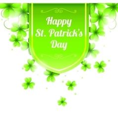 St patricks day banner vector