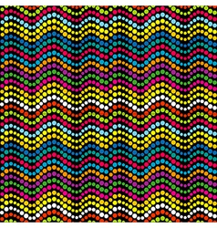 Dotted colored background vector image