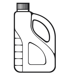 oil can vector image