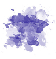 abstract watercolor on white background color vector image