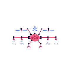 Automated drone vector