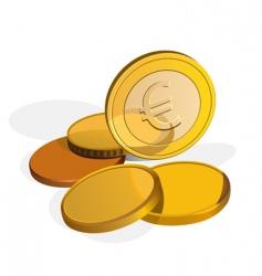 Money euro vector