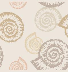 Pattern nautilus vector