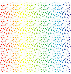 Rainbow dots abstract background vector