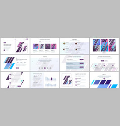 set of templates for website design vector image