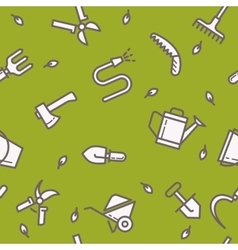 signs and symbols gardening vector image
