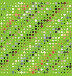 Background with irregular colored circles vector