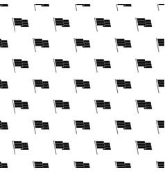 Flag pattern vector