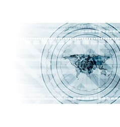 Hi-tech background vector