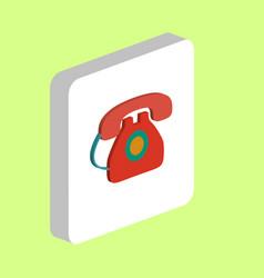 phone telephone computer symbol vector image