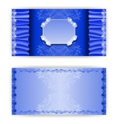 template royal invitation card vector image vector image