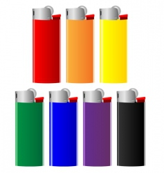 lighters vector image