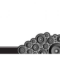 speaker poke vector image vector image