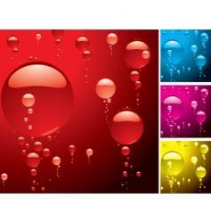 bubble variation vector image vector image