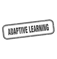 Adaptive learning stamp adaptive learning square vector