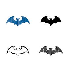 Bat icon design vector