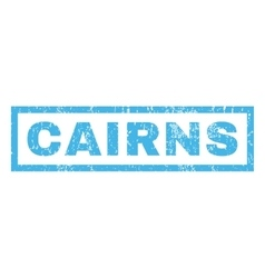 Cairns Rubber Stamp vector image
