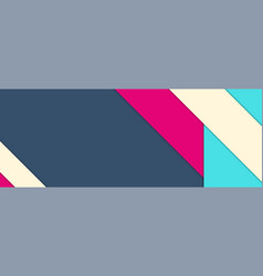 material design background with with sample text vector image