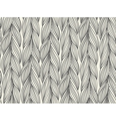 Seamless pattern imitation with braids vector