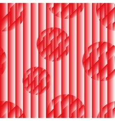 Seamless pattern in the Japanese style red-white vector