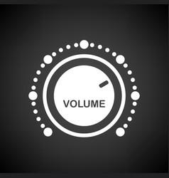 volume control icon vector image