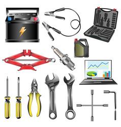 car service tool car vector image