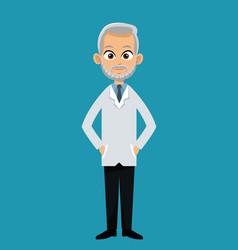 doctor professional healthcare design vector image