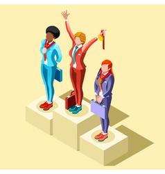 Ambitious business change 76 job ambitions concept vector