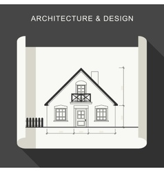 Architecture and design vector image vector image
