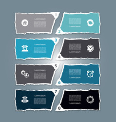 infographic template for business vector image