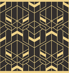abstract art deco seamless pattern 83 vector image
