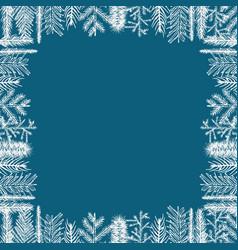 Christmas framework vector