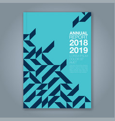 Cover annual report 749 vector