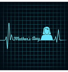 Creative happy mothers day background vector