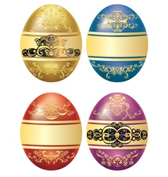 Decorative Easter Eggs vector