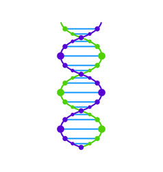 dna icon dna graphic vector image