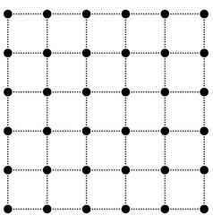 dot line grid design modern background vector image