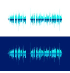 HQ sound waves Music waveform background You can vector