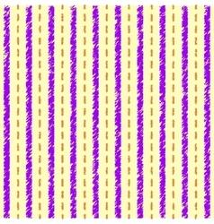 Striped yellow purple pattern vector