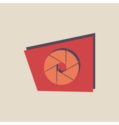 abstract icon logo vector image vector image