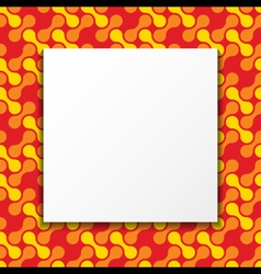 Colorful Frame Background vector image
