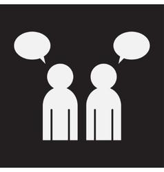 People talk vector image