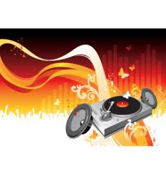summer party night vector image