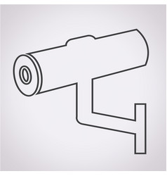 cctv icon cctv security iconcctv camera vector image