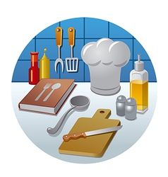 Cooking concept icon vector