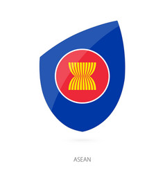 Flag asean vector