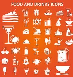 Foodicons vector image